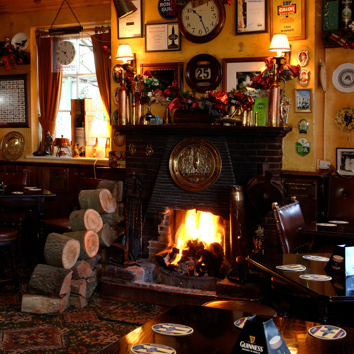 The Hare Arms Fireplace